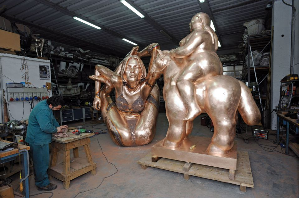 The Working Of Bronze - Fonderia dArte Massimo Del Chiaro - Pietrasanta